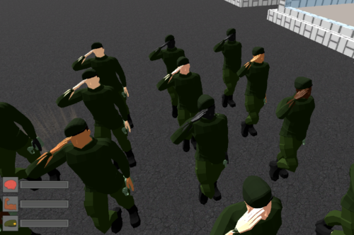 Soldier Formation Prototype