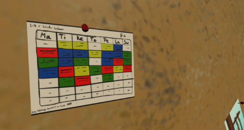 2019-05-19: The game will feature a Service Calendar that is a core part of the gameplay. Player must plan his / her moves ahead in order to stay in schedule.